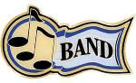 Band Music Award Pins
